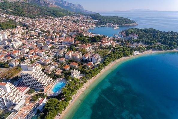 hotel valamar meteor Makarska jadran more letovanje smeštaj panorama