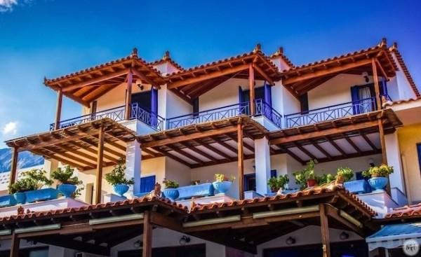 Hotel Votsalakia 3* Balkoni
