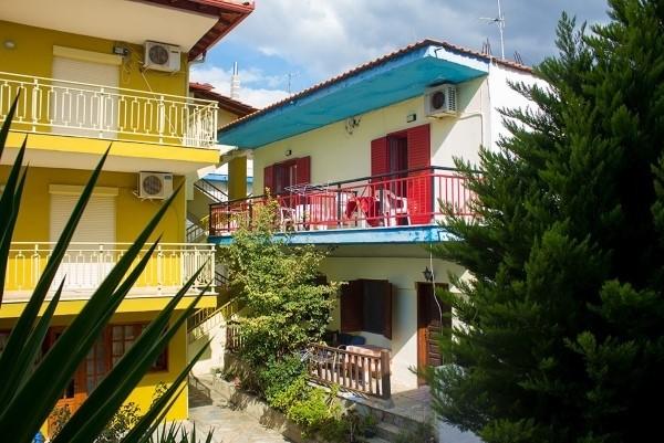 Kuća Flora Toroni Sitonija more Grčka apartmani smeštaj
