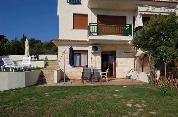Kuća Pomme de la mer Nikiti Sitonija Grčka More Letovanje Smeštaj spolja
