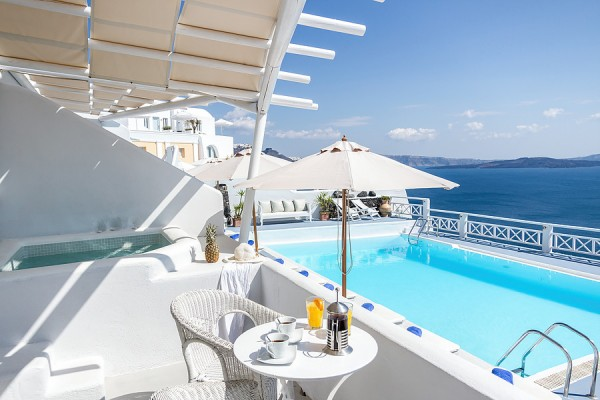 Santorini lux hoteli - najbolji smeštaj