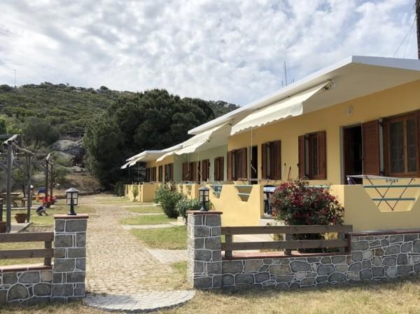 Maria bungalovi Sykia Valti Beach Sitonija spolja