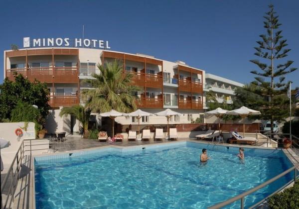 Hotel Minos 4* - Retimno / Krit - Grčka avionom