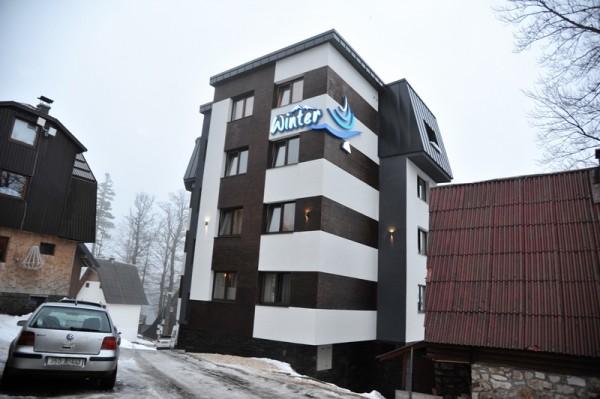 Pansion Winter Jahorina izgled spolja zima 2020 zimovanje Bosna i Hercegovina skijanje smeštaj