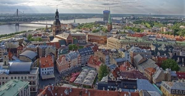 Riga Baltičke zemlje uskrs avionom