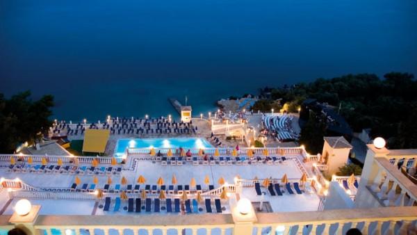 Krf hoteli plaže
