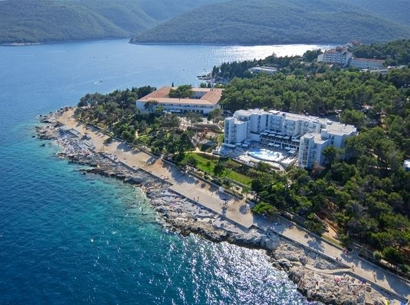 Hotel Valamar pogled Rabac