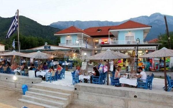 Vila Crystal Tasos more letovanje grčka apartmanski smeštaj prevoz