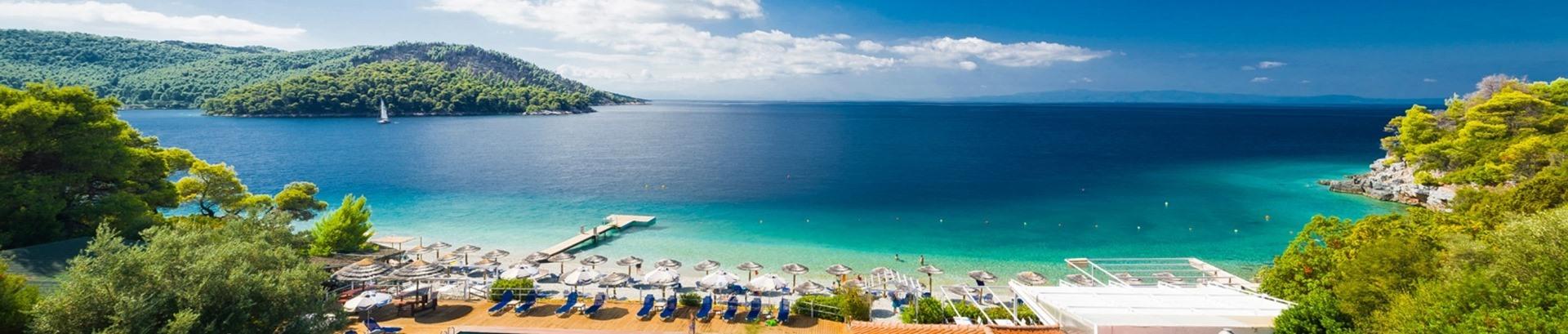 Grčka ostrva avionom leto 2017