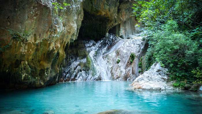 Nidri Lefkada vodopadi letovanje cene Grčka avionom