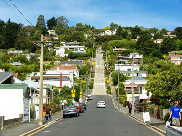Ovako izgleda najstrmija ulica na svetu (FOTO)