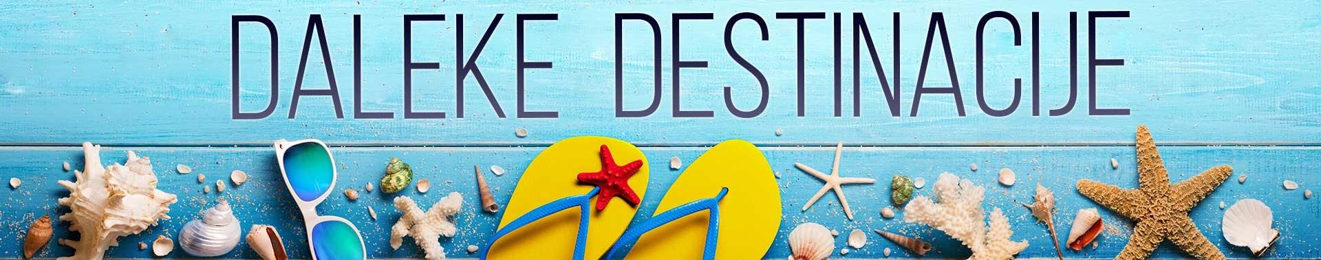 Daleke destinacije - Sejšeli, Zanzibar, Maldivi, Tajland 2020