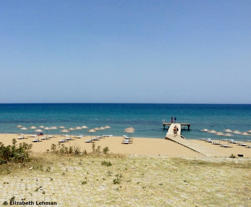Bediz Salamis plaža Kipar letovanje cene avionom