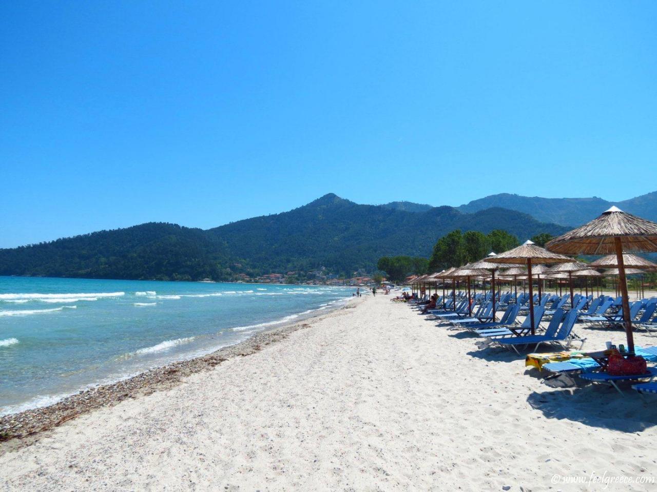 Najbolje plaže na Tasosu letovanje cene aranžmani