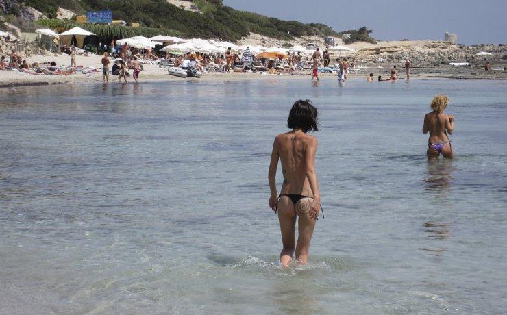 Las Salinas najbolje plaze na Ibici letovanje hoteli Španija