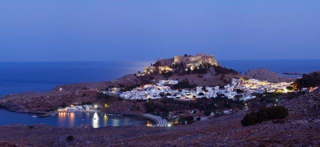 Lindos na ostrvu Rodos u Grčkoj