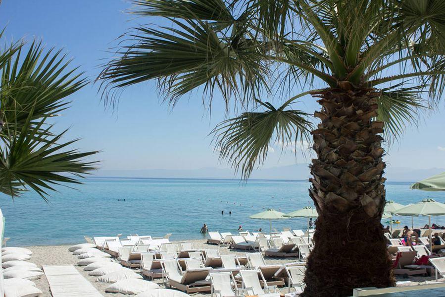 Molos plaža Kasandra letovanje hoteli cene