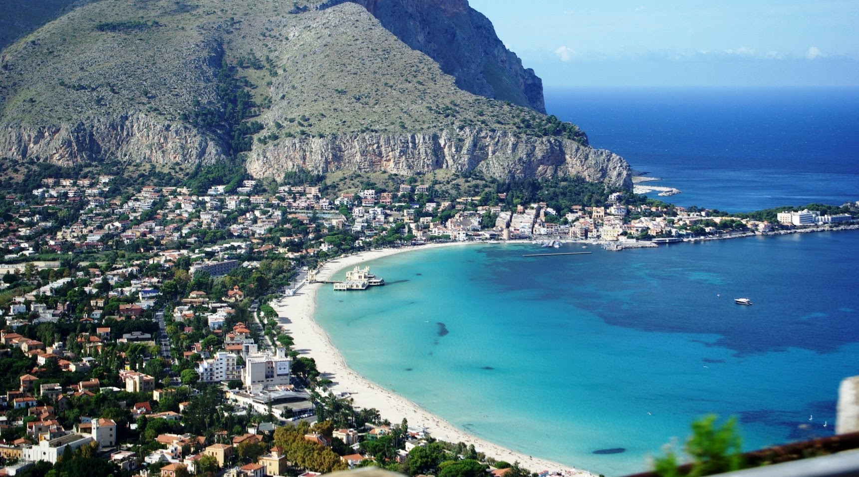 Mondelo najbolje plaže na Siciliji Italija avionom