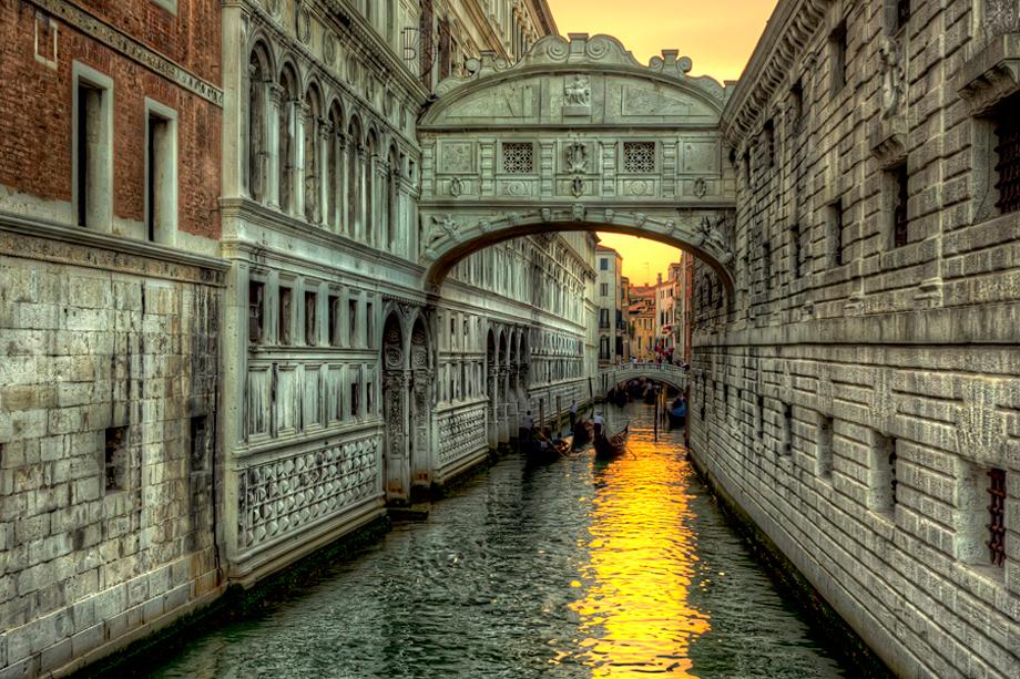 Venecija - Most uzdaha