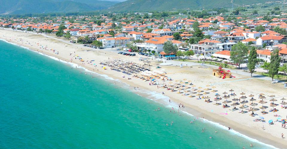 Nea vrasna plaža letovanje grčka cene