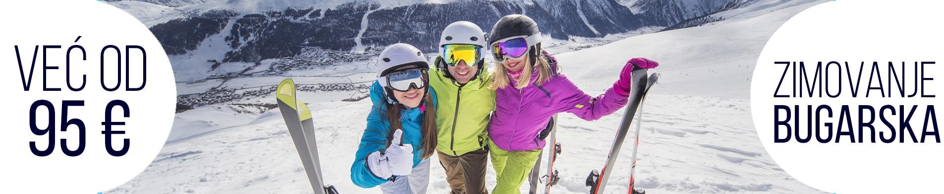 Zimovanje Bugarska skijanje Bansko Borovec