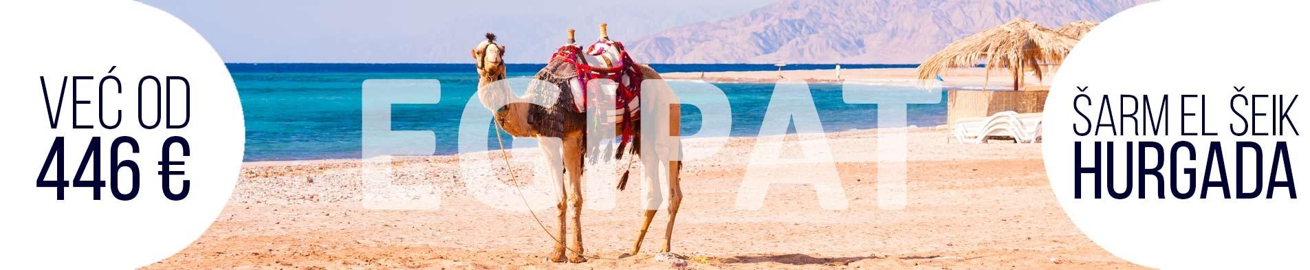 Egipat letovanje 2020 Hurgada Šarm el šeik