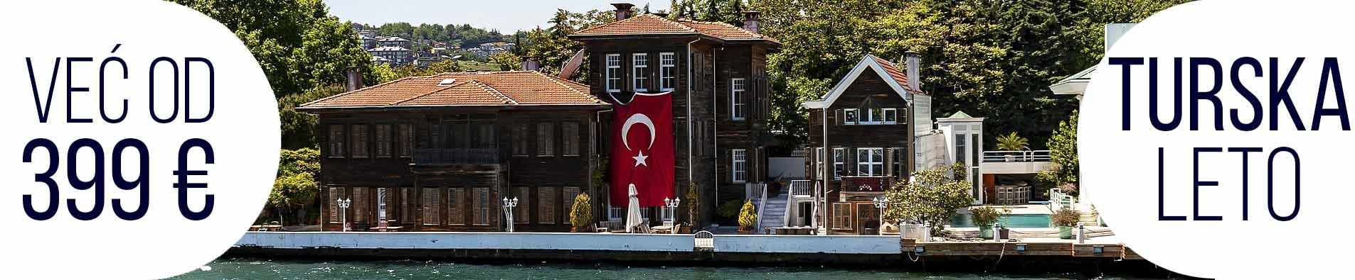 Turska letovanje 2019 naslovna nova