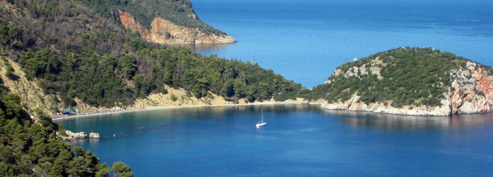 Plaže na Skopleosu letovanje Grčka avionom cene