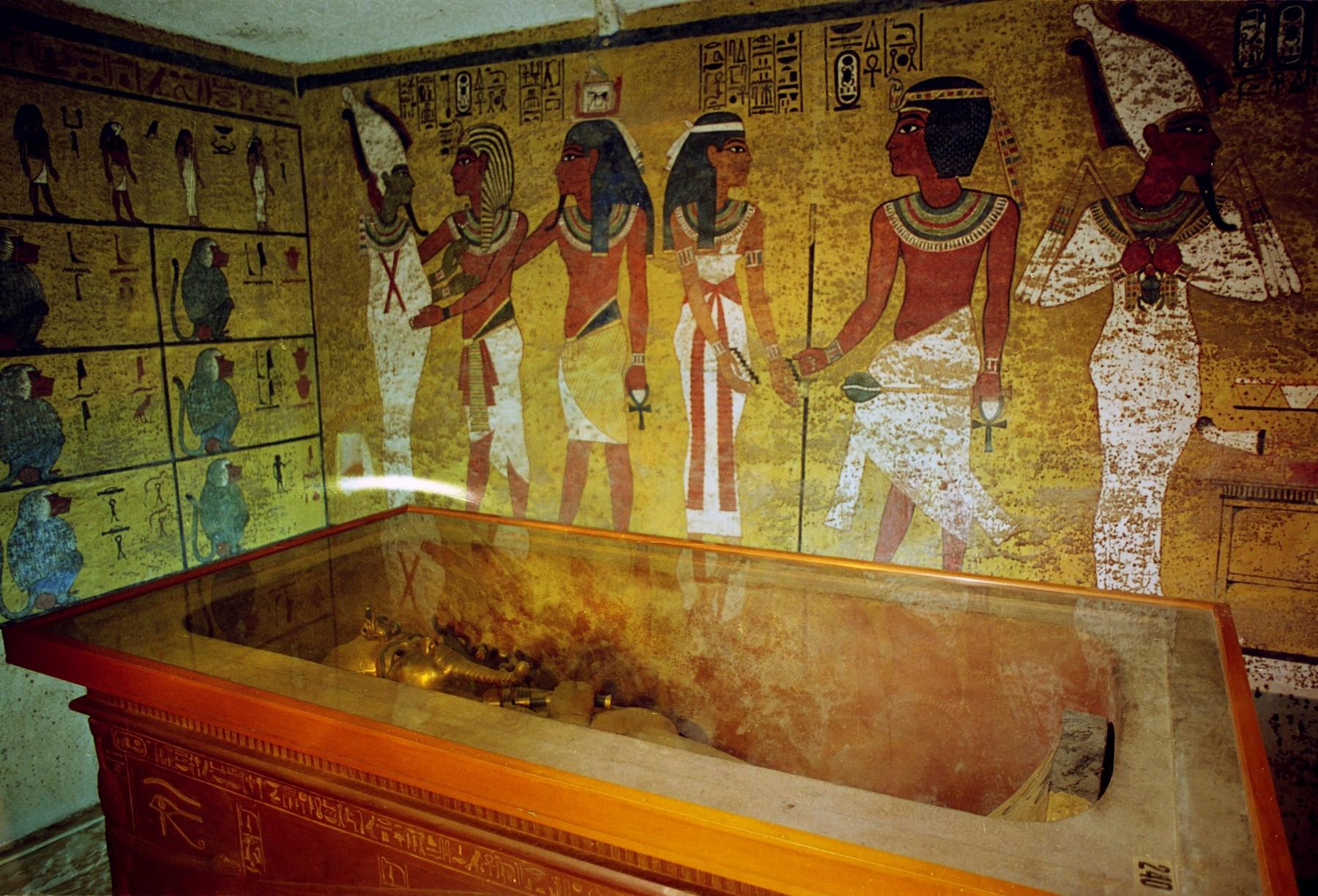 Tutankamonova grobnica - brijač